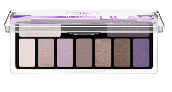 CATRICE THE EDGY LILAC COLLECTION PALETA SOMBRAS 010 PURPLE UP YOUR LIFE