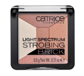 CATRICE STROBING LIGHT SPECTRUM SET 010 BROWN BRILLIANCE