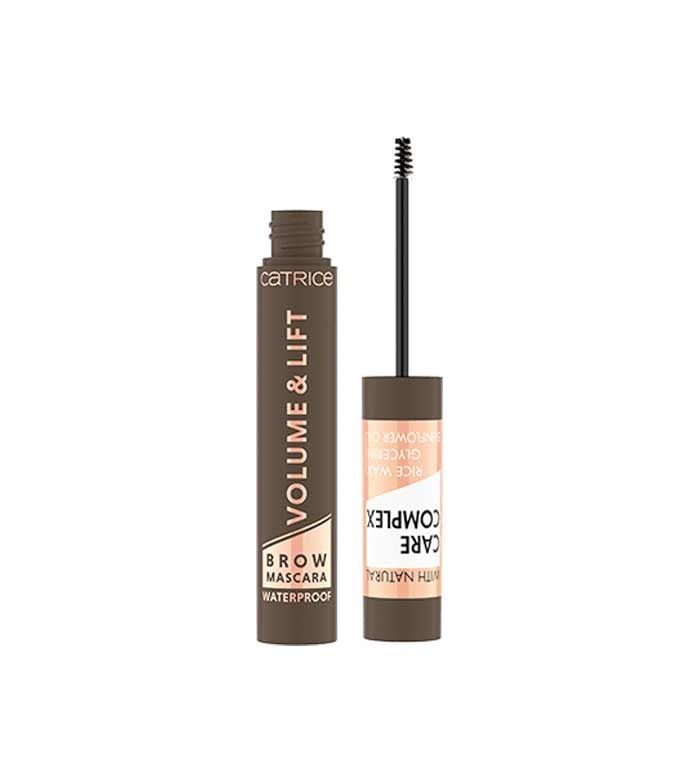 CATRICE MÁSCARA PARA CEJAS WATERPROOF VOLUME & LIFT 030 MEDIUM BROWN 5 ML