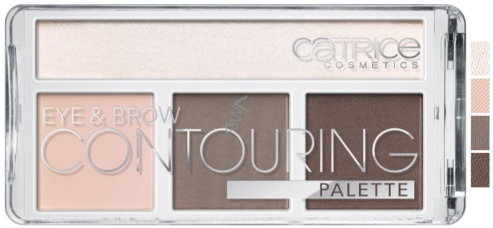 CATRICE PALETA CONTOURNING OJOS Y CEJAS 010 BUT FIRST, COLD CHOCOLATE!