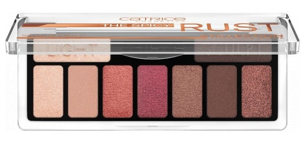 CATRICE THE SPICY RUST COLLECTION EYESHADOW PALETTE 010 WHAT CHAI SAYIN\'?