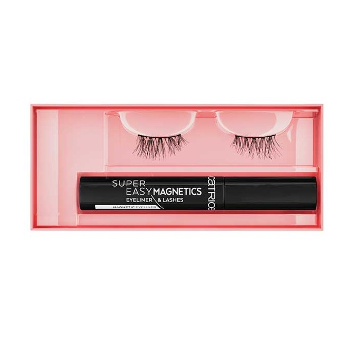 CATRICE SUPER EASY PESTAÑAS POSTIZAS CON EYELINER 010 MAGICAL VOLUME