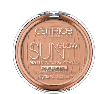 CATRICE POLVOS BRONCEADORES MATE SUN GLOW  035 UNIVERSAL BRONZE