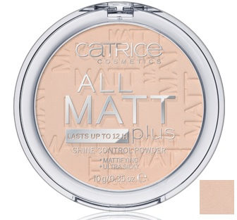 CATRICE POLVOS MATIFICANTES ALL MATT PLUS 010 TRANSPARENT 10G