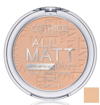 CATRICE POLVOS MATIFICANTES ALL MATT PLUS 025 SAND BEIGE 10G