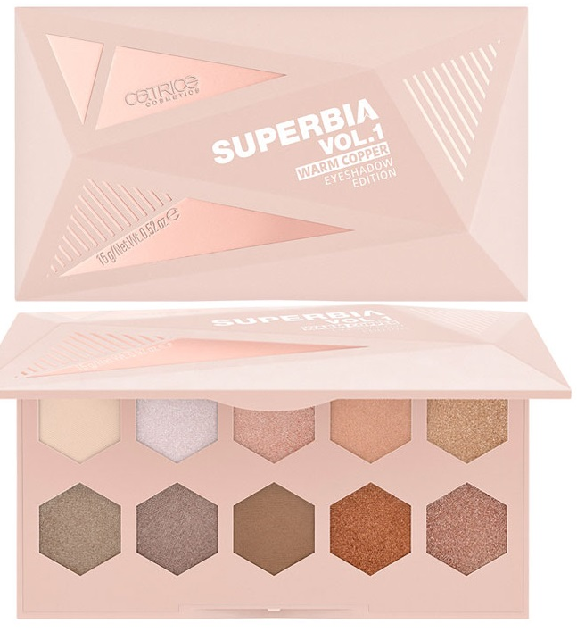 CATRICE SUPERBIA VOL.1 WARM COOPER PALETA SOMBRAS 010 BRONZE UPON A DREAM