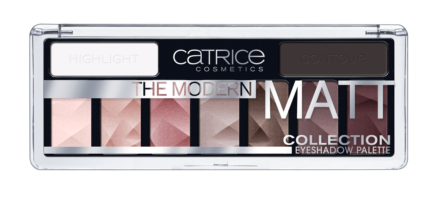 CATRICE THE MODERN MATT COLLECTION PALETA SOMBRA OJOS 010 THE MUST HAVE