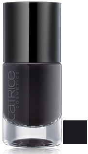 CATRICE ULTIMATE NAIL LACQUER ESMALTE DE UÑAS 39 BLACK TO THE ROUTES 10 ML