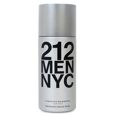 CAROLINA HERRERA 212 MEN DEO SPRAY 150 ML