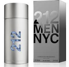 CAROLINA HERRERA 212 MEN EDT 100ML VP.