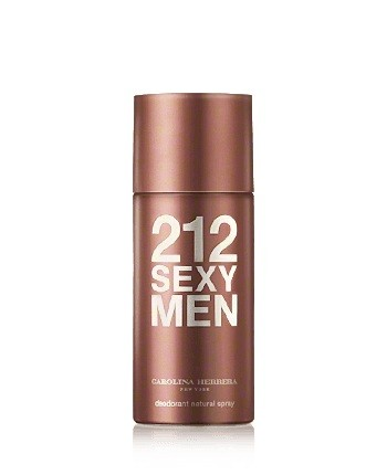 CAROLINA HERRERA 212 SEXY MEN DESODORANTE SPRAY 150 ML