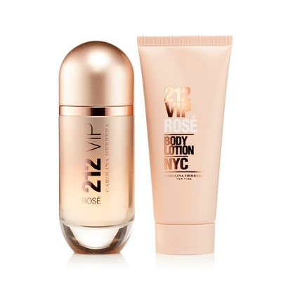 2fa70ef0c CAROLINA HERRERA 212 VIP ROSE EDP 80 ML + B/L 100 ML SET REGALO