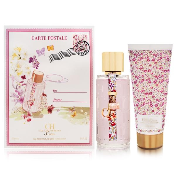CAROLINA HERRERA CH L´EAU EDT 100 ML + BL 100 ML SET REGALO