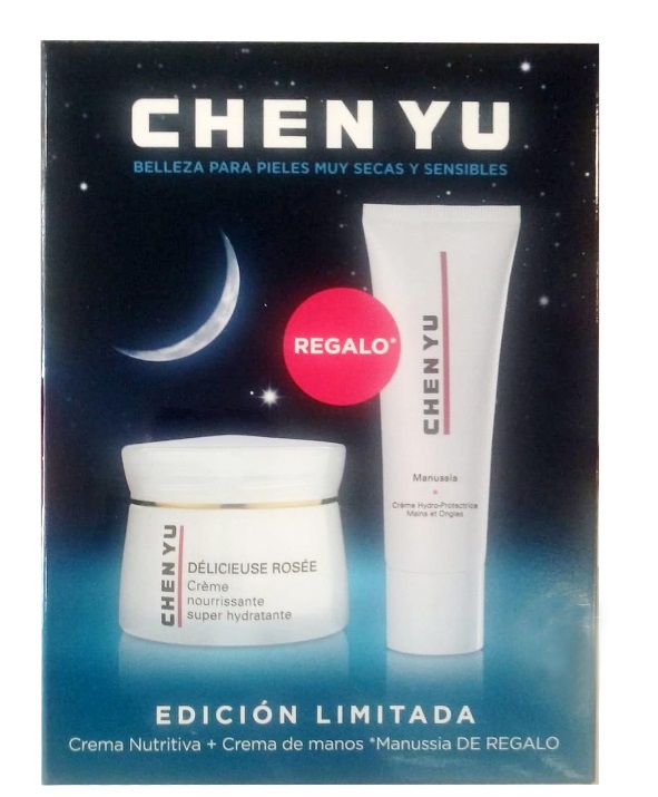CHEN YU SET DELICIEUSE ROSSE NOCHE 50ML+MANUSSIA CREMA MANOS 75ML