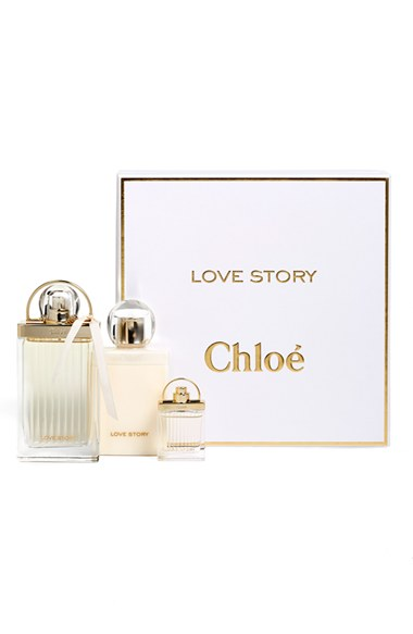 CHLOE LOVE STORY EDP 75 ML + B/L 100 ML + MINI 7.5 ML SET REGALO