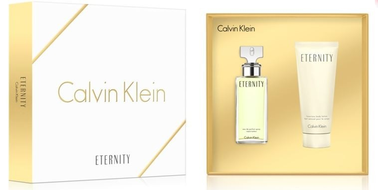 CALVIN KLEIN CK ETERNITY WOMAN EDP 50 ML + B/LOC 100 ML SET REGALO