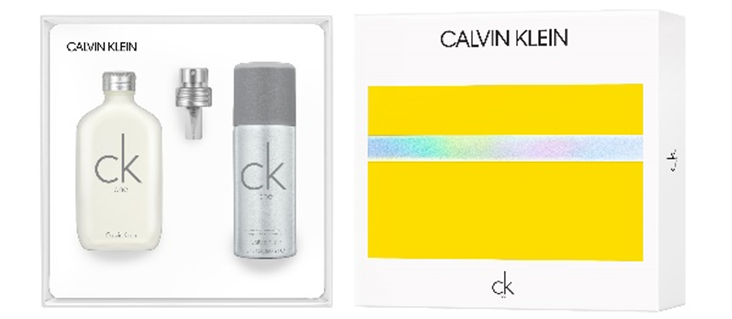 CK ONE EDT 100ML + DEO SPRAY 150 ML SET REGALO