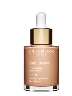CLARINS SKIN ILLUSION SPF 15 TEINT NATUREL 107 30ML