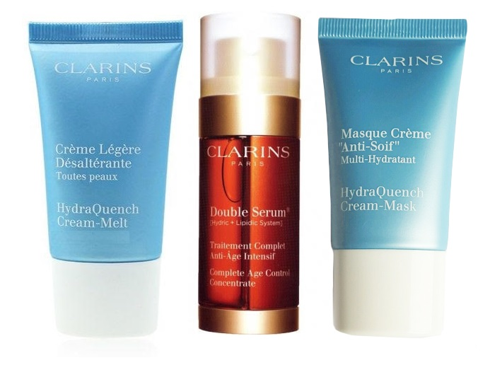 clarins double serum set regalo que se compone de clarins double serum 30 ml clarins. Black Bedroom Furniture Sets. Home Design Ideas