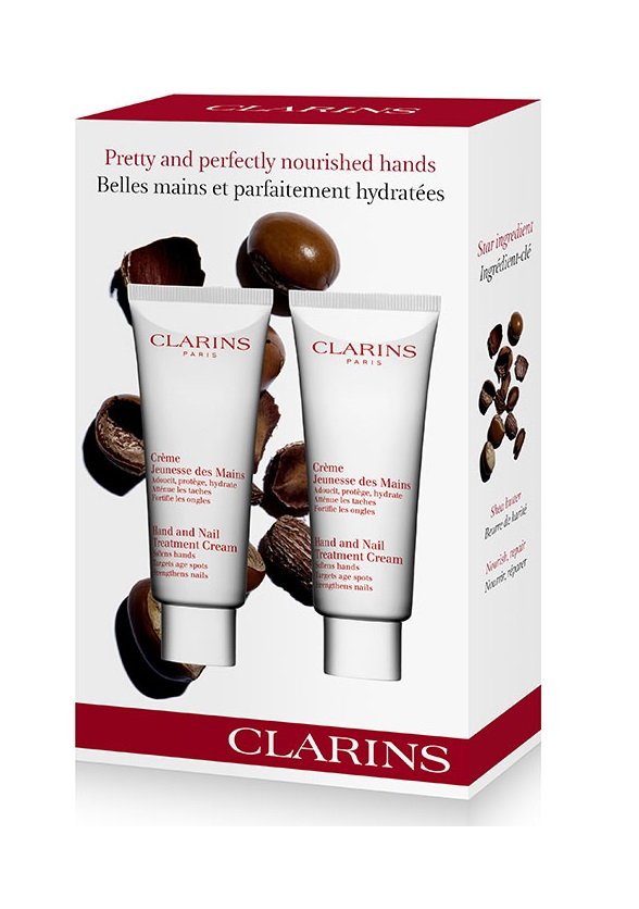 CLARINS HAND AND NAIL TREATMENT DUO 2 X 100 ML SET REGALO