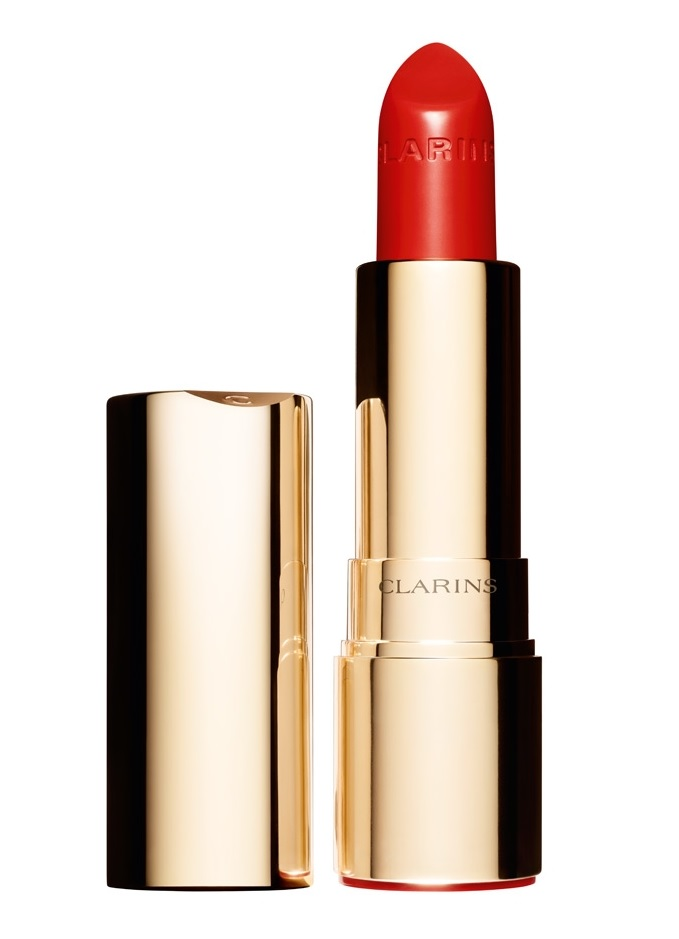 CLARINS JOLI ROUGE BRILLANT COLOR 741 TULIP RED