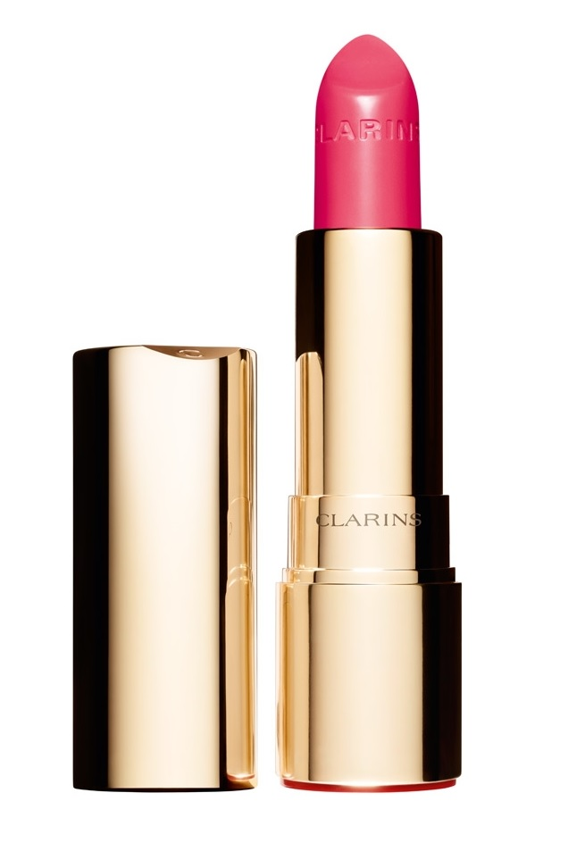 CLARINS JOLI ROUGE BRILLANT COLOR 749 ROSE SHOCKING