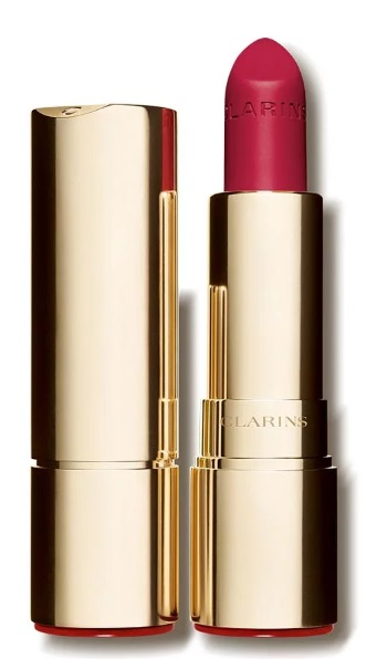 CLARINS JOLI ROUGE VELVET BARRA DE LABIOS MATE COLOR 762 V  POP PINK