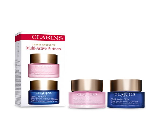 CLARINS MULTI-ACTIVE CREMA DIA 50ML + MULTI ACTIVE CREMA NOCHE 50 ML SET REGALO