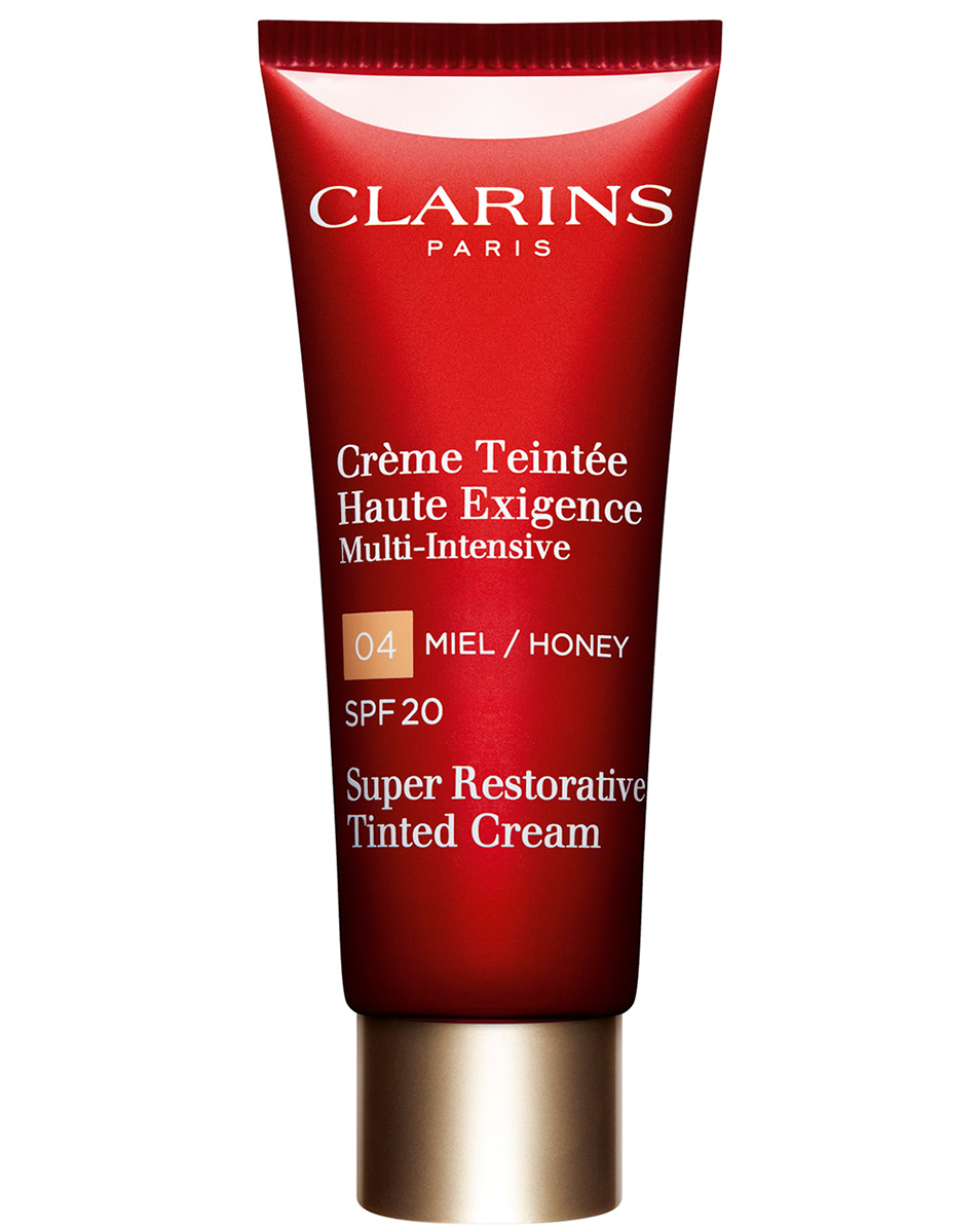 CLARINS CREMA DIA ALTA EXIGENCIA CON COLOR SPF 20 04 HONEY 40 ML