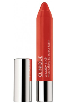 CLINIQUE CHUBBY STICK LIP BALM HIDRATANTE COLOR 012 OVERSIZED ORANGE