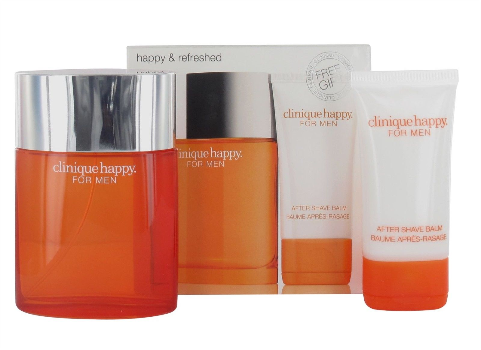 CLINIQUE HAPPY MEN EDT 100 ML + A/S BALM 50 ML SET REGALO