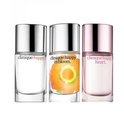 CLINIQUE HAPPY HAPPIER SET (HAPPY EDP 30 ML + HAPPY IN BLOOM EDP 30 ML + HAPPY HEART EDP 30 ML)