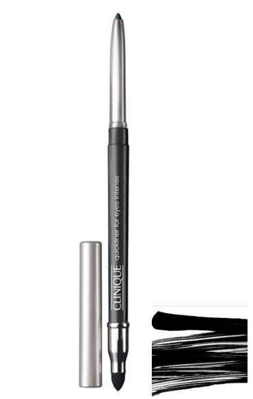 CLINIQUE QUICKLINER FOR EYES 09 DELINEADOR AUTOMATICO INTENSE EBONY 3 GR