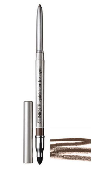 CLINIQUE QUICKLINER FOR EYES 03 DELINEADOR AUTOMATICO ROAST COFFE 3 GR