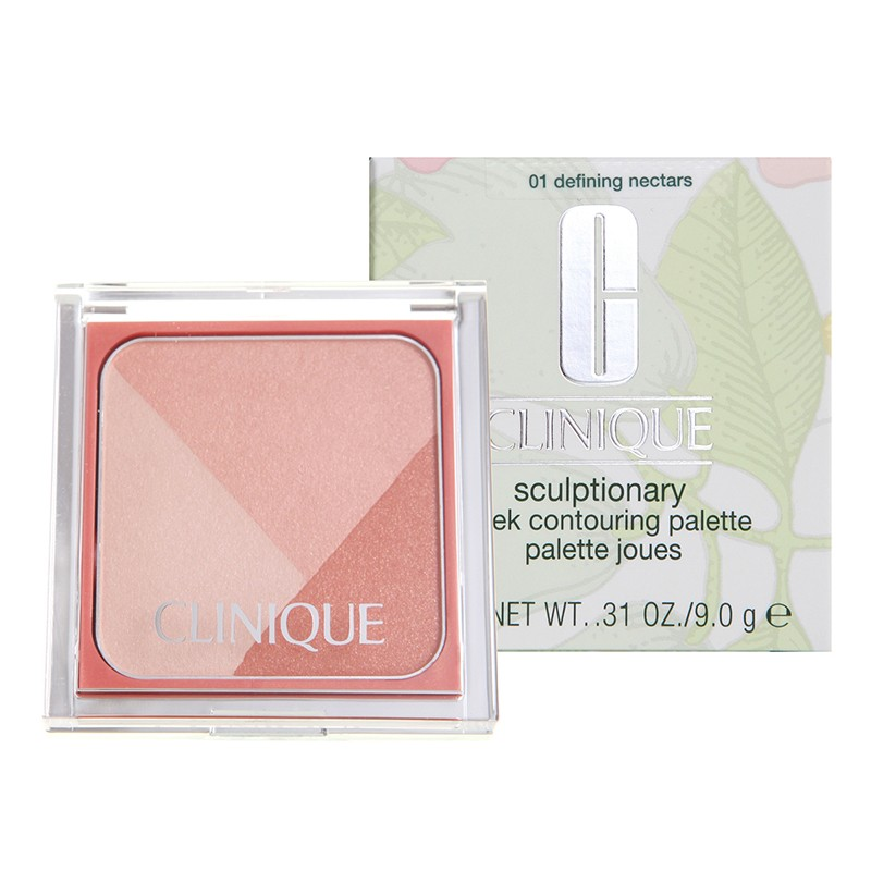CLINIQUE SCULPTIONARY CHEEK PALETTE 01 DEFINING NECTARS 9 GR