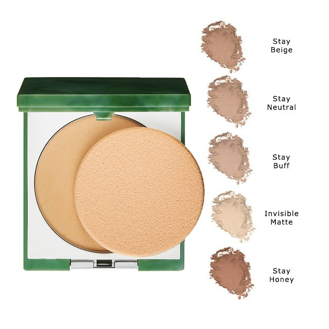 CLINIQUE STAY MATTE IN POWDER POLVOS COMPACTOS 02 STAY NEUTRAL 7.6 GR.