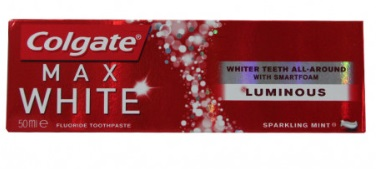 COLGATE MAX WHITE LUMINOUS PASTA DENTAL 50ML
