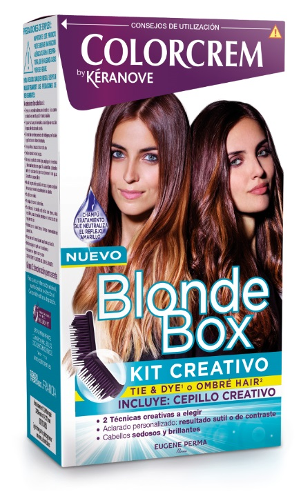 COLORCREM BY KERANOVE BLONDE BOX KIT CREATIVO