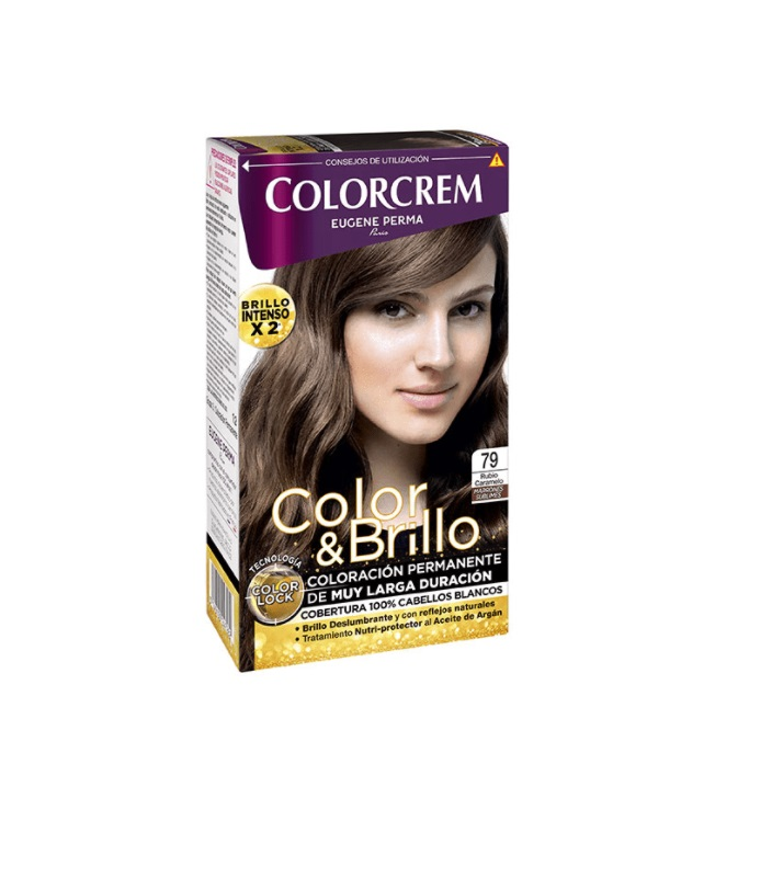 COLORCREM COLOR & BRILLO TINTE CAPILAR 79 RUBIO CARAMEL