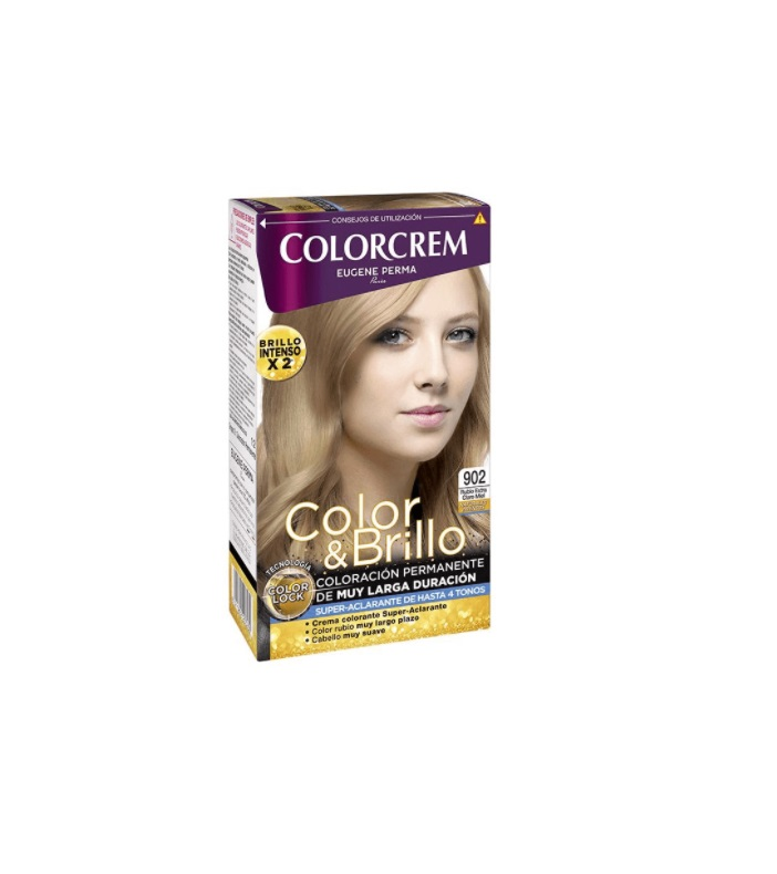 COLORCREM COLOR & BRILLO TINTE CAPILAR 902 RUBIO CLARO MIEL