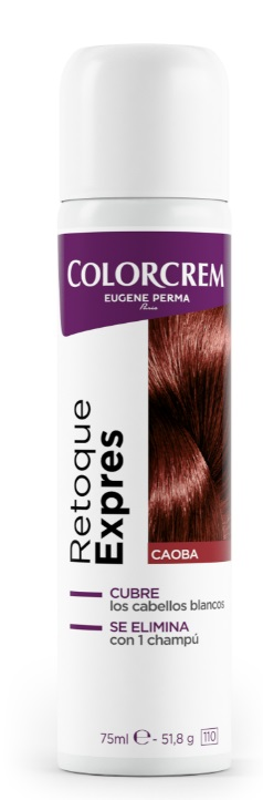 COLORCREM RETOQUE EXPRESS RAICES CAOBA SPRAY 75ML
