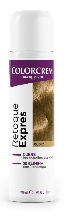 COLORCREM RETOQUE EXPRESS RAICES RUBIO SPRAY 75ML
