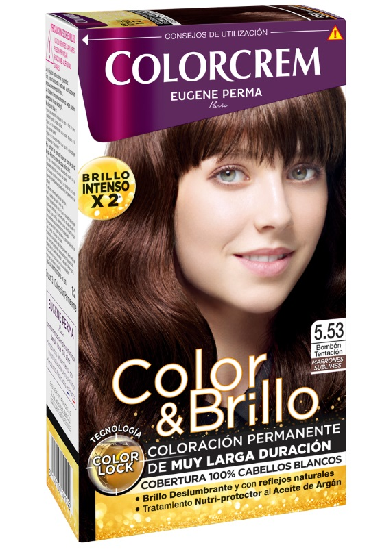 COLORCREM COLOR & BRILLO TINTE CAPILAR 5.53 BOMBON TENTACION