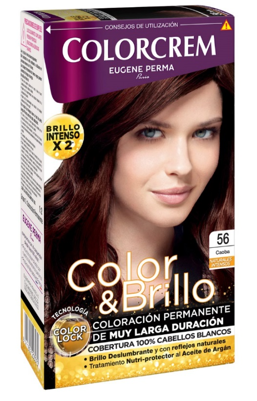 COLORCREM COLOR & BRILLO TINTE CAPILAR 56 CAOBA