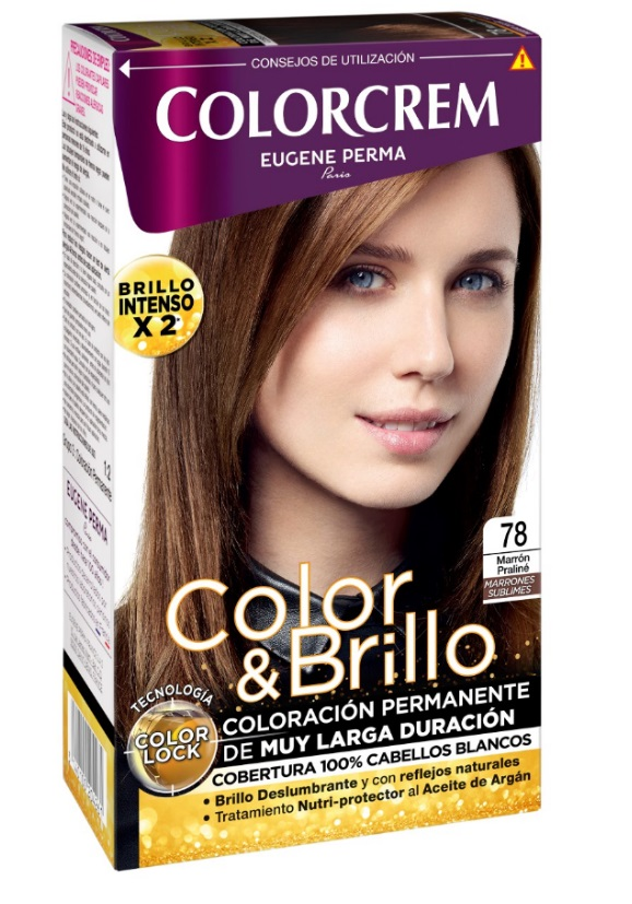 COLORCREM COLOR & BRILLO TINTE CAPILAR 78 MARRON PRALINE