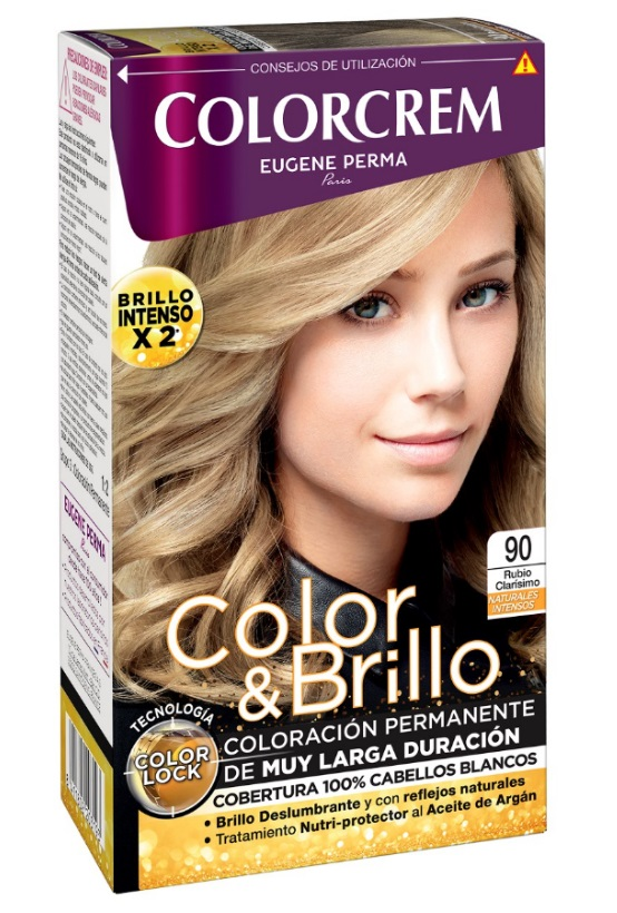 COLORCREM COLOR & BRILLO TINTE CAPILAR 90 RUBIO CLARISIMO