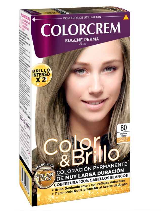 COLORCREM COLOR & BRILLO TINTE CAPILAR 80 RUBIO CLARO