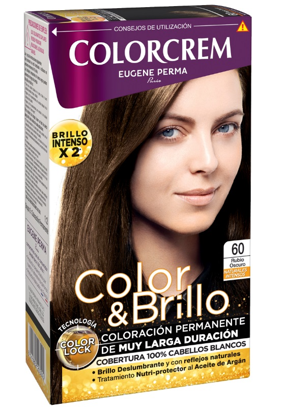COLORCREM COLOR & BRILLO TINTE CAPILAR 60 RUBIO OSCURO
