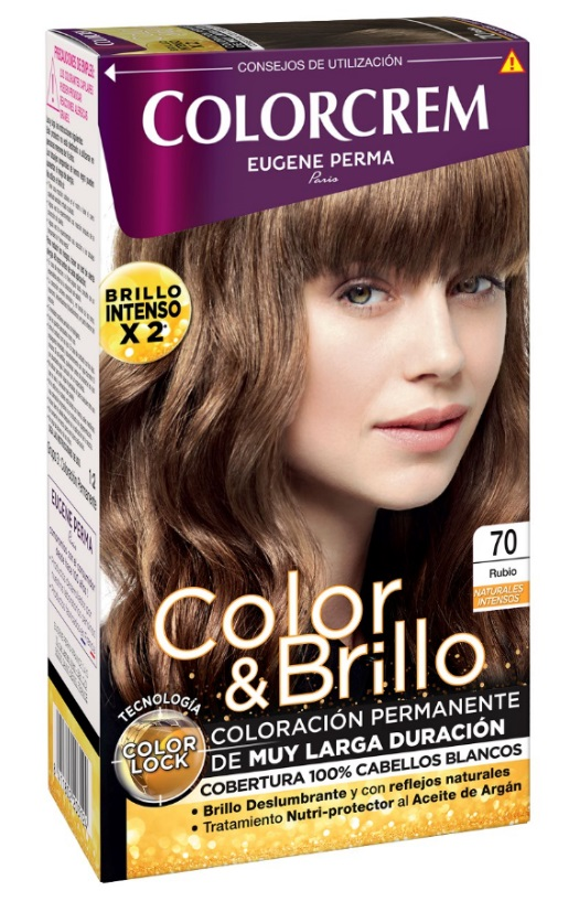 COLORCREM COLOR & BRILLO TINTE CAPILAR 70 RUBIO