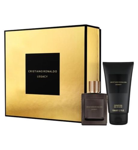 CRISTIANO RONALDO LEGACY EDT 50 ML + SHOWER GEL 150 ML SET REGALO